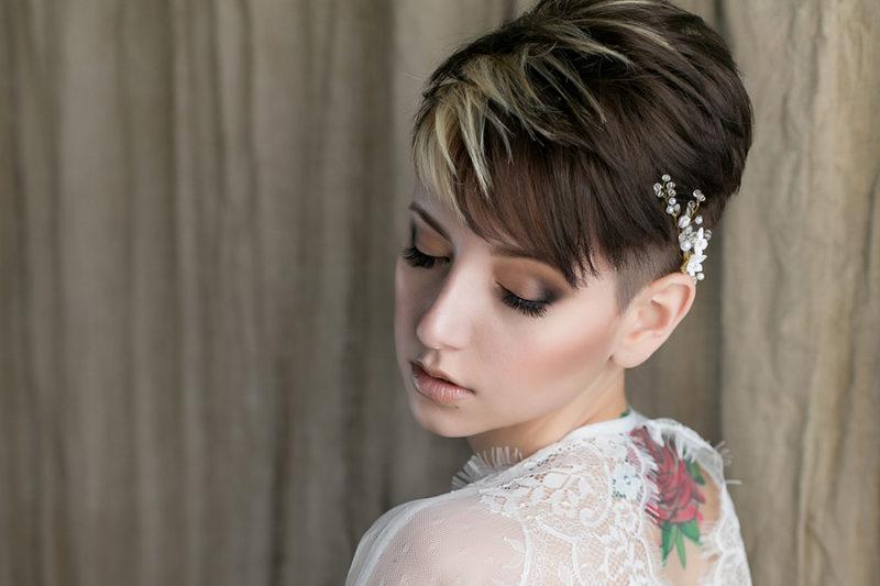 Elegant Romantisch Und Frech Brautfrisur Ideen Fur Frauen Mit